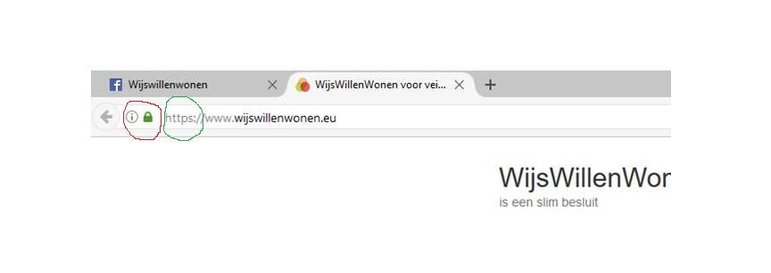 website beter beveiligd