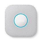 Nest koolmonoxide-melder en rookmelder met automatische controlefunctie en melding naar smartphone